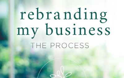 Rebranding My Business :: The Process